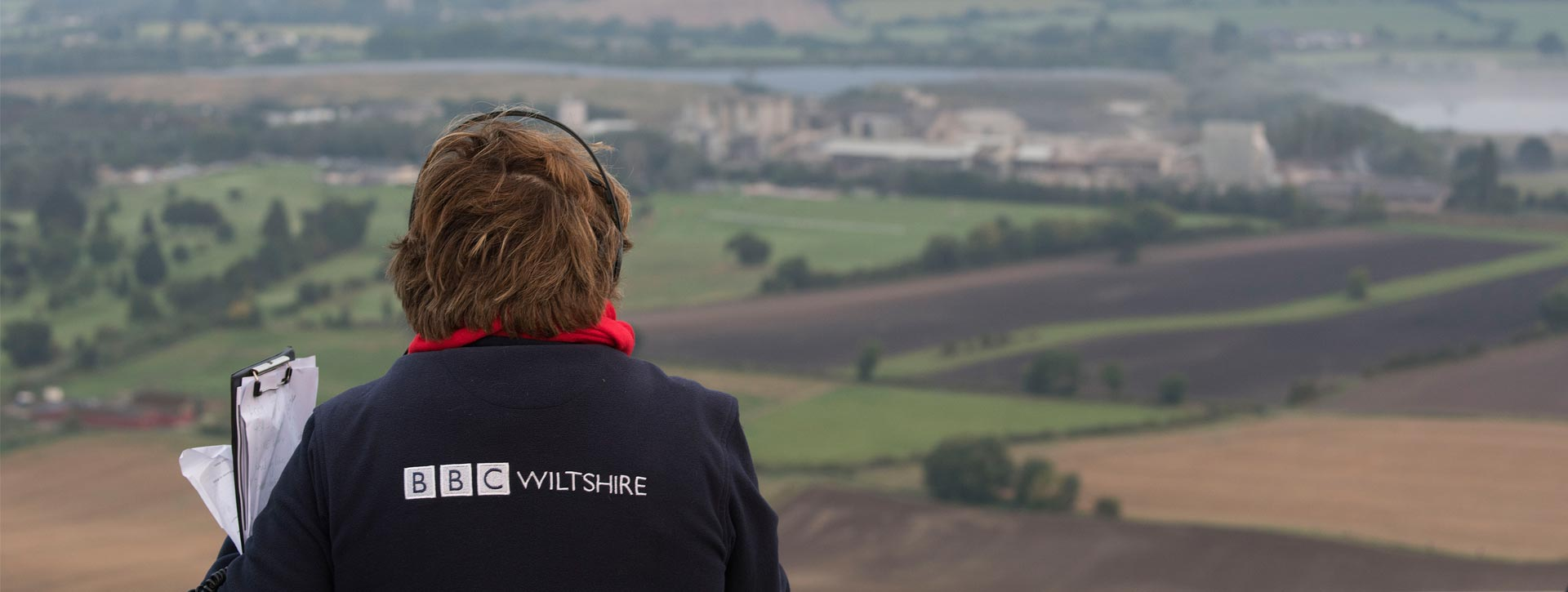 overlooking cement works image - corporate photographer
